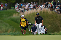 Shane Lowry (IRL) walking off  the 14th tee during the final round at the PGA Championship 2019, Beth Page Black, New York, USA. 20/05/2019.<br /> Picture Fran Caffrey / Golffile.ie<br /> <br /> All photo usage must carry mandatory copyright credit (© Golffile | Fran Caffrey)
