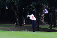 Andrew McCormack (Castletroy) on the 18th during the AIG Barton Shield Munster Final 2018 at Thurles Golf Club, Thurles, Co. Tipperary on Sunday 19th August 2018.<br /> Picture:  Thos Caffrey / www.golffile.ie<br /> <br /> All photo usage must carry mandatory copyright credit (&copy; Golffile | Thos Caffrey)