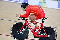 Picture by Simon Wilkinson/SWpix.com 22/03/2018 - Cycling 2018 UCI  Para-Cycling Track Cycling World Championships. Rio de Janeiro, Brazil - Barra Olympic Park Velodrome - Day 1 - finals Guihua Liang