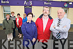 Mary Dilworth, Diarmuid McCarthy and Frank Buckley with Sheila Murphy, Hannah O'Sullivan, Breda Roche and Stacey Cantillon who say that the closure of the AIB branch in Rathmore will be a huge loss to the local community. ..............................................Christy O'Mahony, captain Beaufort Golf club and Irene McCarthy, Lady Captain Beaufort Golf Club pictured with James Lucey and Sheila McCarthy, who were the winners in their Captain Prize Competition at the course on Sunday. Also pictured are Frank Coffey, President, Sean Coffey, vice captain, Teresa Clifford, Margaret Guerin, Josephine O'Shea, Gretta Hurley, Renee Clifford, Peggy O'Riordan, Maureen Rooney, Mary Barrett, Robin Suter, Gearoid Keating, Jim Hurley, Gabhan O'Loughlin, Rory Browne, Mike Quirke, Matt Templeman and Simon Rainsford...Picture: Ger Cronin LMPA (087) 0522010....PR SHOT..NO REPRODUCTION FEE.............................................................................................................................................................................................................................................
