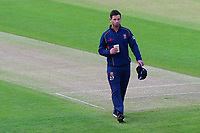 Essex skipper Ryan ten Doeschate walks off after assessing the prospects of play during Yorkshire CCC vs Essex CCC, Specsavers County Championship Division 1 Cricket at Emerald Headingley Cricket Ground on 16th April 2018
