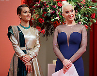 04/02/2020 - Natasha Poonawalla and Katy Perry during a reception for supporters of the British Asian Trust in London. Photo Credit: ALPR/AdMedia