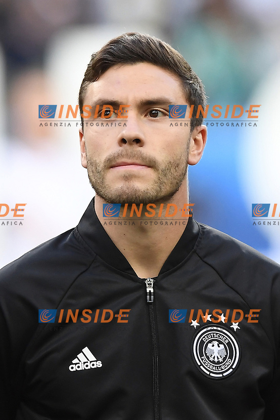 Jonas Hector <br /> Paris 16-06-2016 Stade de France Football Euro2016 Germany - Poland / Germania - Polonia Group Stage Group C. Foto Matteo Gribaudi / Insidefoto / Insidefoto