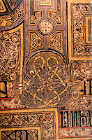 Visual Arts:  Book of Kells-- illuminated manuscript of Gospel Book in Latin.  On permanent display at the Trinity College Library, Dublin.  Photo '84.