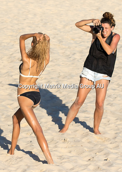 25 FEBRUARY 2016 <br /> SYDNEY, AUSTRALIA<br /> <br /> EXCLUSIVE PICTURES<br /> <br /> A very skinny and bony model pictured posing at Bondi Beach<br /> <br /> *ALL WEB USE MUST BE CLEARED*<br /> <br /> Please contact prior to use:  <br /> <br /> +61 2 9211-1088 or email images@matrixmediagroup.com.au <br /> <br /> Note: All editorial images subject to the following: For editorial use only. Additional clearance required for commercial, wireless, internet or promotional use.Images may not be altered or modified. Matrix Media Group makes no representations or warranties regarding names, trademarks or logos appearing in the images.