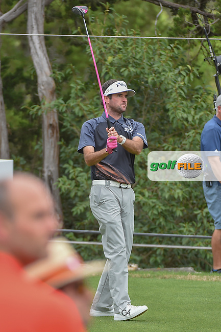 Bubba Watson (USA) watches his tee shot on 2 during day 5 of the World Golf Championships, Dell Match Play, Austin Country Club, Austin, Texas. 3/25/2018.<br /> Picture: Golffile   Ken Murray<br /> <br /> <br /> All photo usage must carry mandatory copyright credit (© Golffile   Ken Murray)