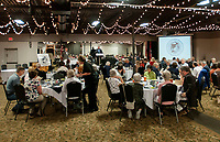 NWA Democrat-Gazette/J.T. WAMPLER Members and guests attend  the Distinguished Citizens Banquet Sunday Oct. 7, 2018 hosted by the Washington County Historical Society at Mermaids in Fayetteville. Hoyt Purvis and Roy Rom were honored.