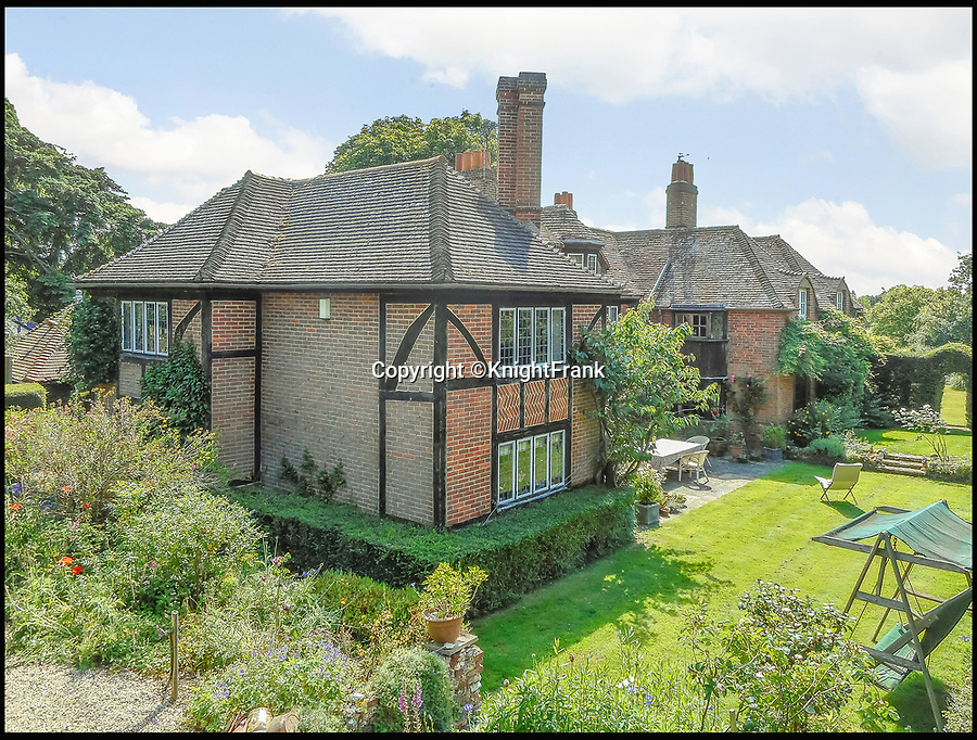 BNPS.co.uk (01202 558833)<br /> Pic: KnightFrank/BNPS<br /> <br /> Fans of the Oscar-winning film Howards End could follow in the footsteps of Anthony Hopkins and Emma Thompson - as the house that starred in the film is now on the market for £3.95million.<br /> <br /> Peppard Cottage in Rotherfield Peppard, Oxfordshire, is so integral to the plot of the 1992 Merchant Ivory production it even features on the cover of the DVD.<br /> <br /> The idyllic ivy-covered property, which dates back to the 14th century, has also been used for other classic British shows such as Poirot, Inspector Morse and Midsomer Murders.<br /> <br /> The beautiful rural home, on the market with Knight Frank, has eight bedrooms and 2.3 acres of grounds.