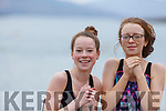 Orla and Cait Markey enjoying the water at their 12 days of Christmas swim on New Years Day in Fenit.