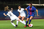 Spanish Women's Football League Iberdrola 2017/18 - Game: 9.<br /> FC Barcelona vs Madrid CFF: 7-0.<br /> Ona Batlle vs Olga Garcia.