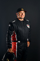 Mar. 21, 2014; Chandler, AZ, USA; LOORRS pro buggy driver Randy Minnier poses for a portrait prior to round one at Wild Horse Motorsports Park. Mandatory Credit: Mark J. Rebilas-USA TODAY Sports