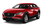 2020 Mazda CX-30 Select 5 Door SUV Angular Front automotive stock photos of front three quarter view