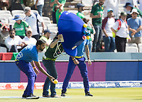 Hows Hat - played between fans from the participating countries at the interval during Pakistan vs Bangladesh, ICC World Cup Cricket at Lord's Cricket Ground on 5th July 2019