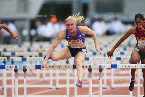 Sally Peason (AUS), MAY 10, 2015 - Athletics : IAAF World Challenge Seiko Golden Grand Prix in Kawasaki, Women's 100mH at Todoroki Stadium, Kanagawa, Japan. (Photo by YUTAKA/AFLO SPORT)