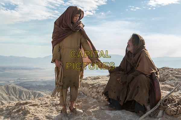 Last Days in the Desert (2015)<br /> Tye Sheridan stars as 'Son' and Ciaran Hinds as 'Father' <br /> *Filmstill - Editorial Use Only*<br /> CAP/KFS<br /> Image supplied by Capital Pictures