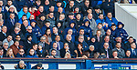 01.02.2020 Rangers v Aberdeen: Rangers players in the stand
