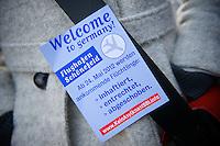Etwa 150 Menschen demonstrierten am Mittwoch den 22. Februar 2012 in Potsdam gegen das geplante Asylgefaengnis auf dem Flughafen Berlin-Brandenburg-International (BBI). Sie forderten die rot-rote Landesregierung auf dieses Vorhaben zu stoppen.<br /> 22.2.2012, Potsdam<br /> Copyright: Christian-Ditsch.de<br /> [Inhaltsveraendernde Manipulation des Fotos nur nach ausdruecklicher Genehmigung des Fotografen. Vereinbarungen ueber Abtretung von Persoenlichkeitsrechten/Model Release der abgebildeten Person/Personen liegen nicht vor. NO MODEL RELEASE! Nur fuer Redaktionelle Zwecke. Don't publish without copyright Christian-Ditsch.de, Veroeffentlichung nur mit Fotografennennung, sowie gegen Honorar, MwSt. und Beleg. Konto: I N G - D i B a, IBAN DE58500105175400192269, BIC INGDDEFFXXX, Kontakt: post@christian-ditsch.de<br /> Bei der Bearbeitung der Dateiinformationen darf die Urheberkennzeichnung in den EXIF- und  IPTC-Daten nicht entfernt werden, diese sind in digitalen Medien nach &sect;95c UrhG rechtlich geschuetzt. Der Urhebervermerk wird gemaess &sect;13 UrhG verlangt.]