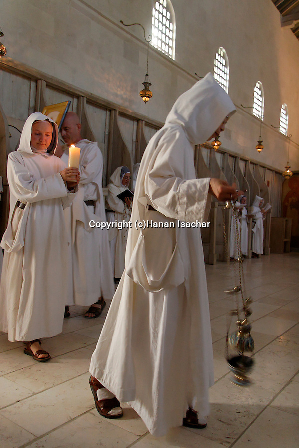 """La Fete de la Nativite de la Vierge""holiday at the Monastery of the Sisters of Bethlehem of the Assumption of the Virgin and of Saint Bruno in Beth Gemal, Israel"