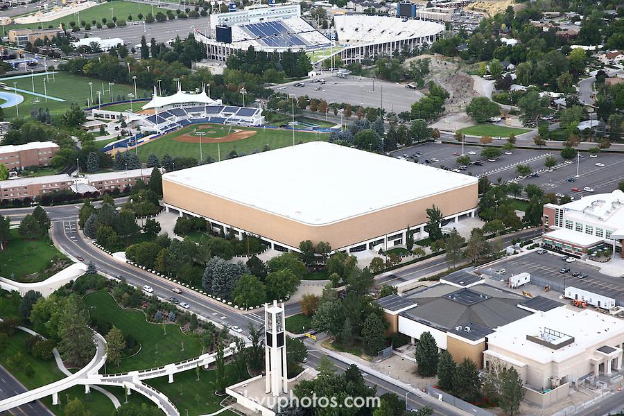 1309-22 3596<br /> <br /> 1309-22 BYU Campus Aerials<br /> <br /> Brigham Young University Campus, Provo, <br /> <br /> BYU Marriott Center, MAC, BYU Basketball<br /> <br /> September 6, 2013<br /> <br /> Photo by Jaren Wilkey/BYU<br /> <br /> &copy; BYU PHOTO 2013<br /> All Rights Reserved<br /> photo@byu.edu  (801)422-7322