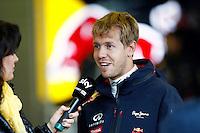 SPA FRANCORCHAMPS, BELGICA, 31 AGOSTO 2012  - F1 - GP DA BELGICA - O piloto alemao Sebastian Vettel da equipe Red Bull durante segundo dia de treinos livres para o GP da Belgica que acontece no proximo domingo. (FOTO: PIXATHLON / BRAZIL PHOTO PRESS).