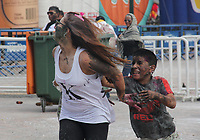 PASTO- COLOMBIA, 5-01-2018: Día de los negritos durante los carnavales en San Juan de Pasto. / Day of the negritos during the carnival in San Juan de Pasto..Photo: Vizzorimage / Leonardo Castro  / Contribuidor