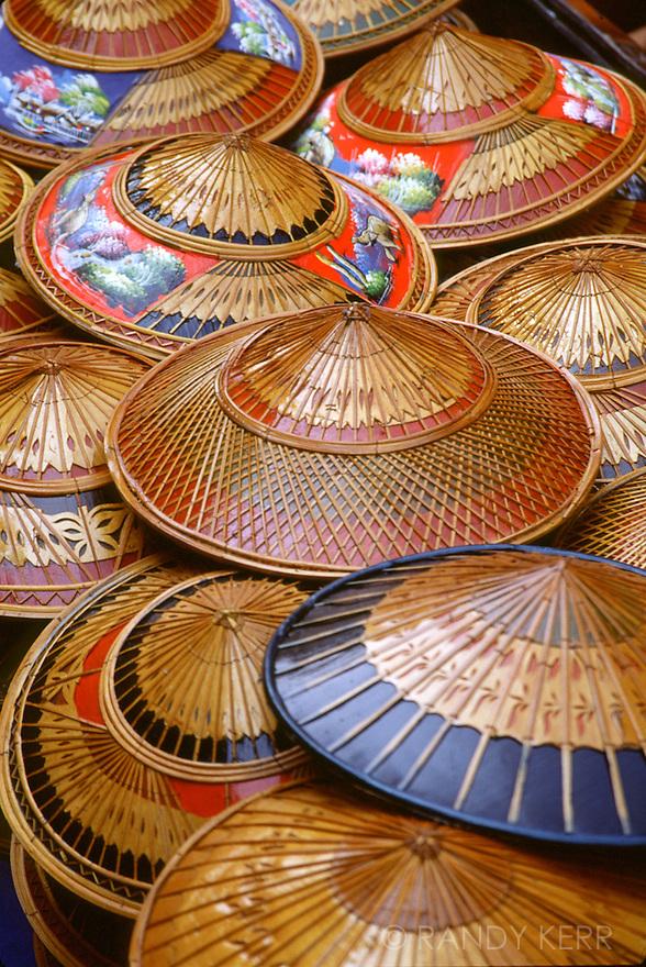 Thai bamboo hats