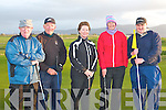 17th hole Tralee golf club l-r: Eamon O'Mahony, Martin Murphy, Siobhan Byrne, Mary O'Mahony and Sylvester Hennessy..   Copyright Kerry's Eye 2008