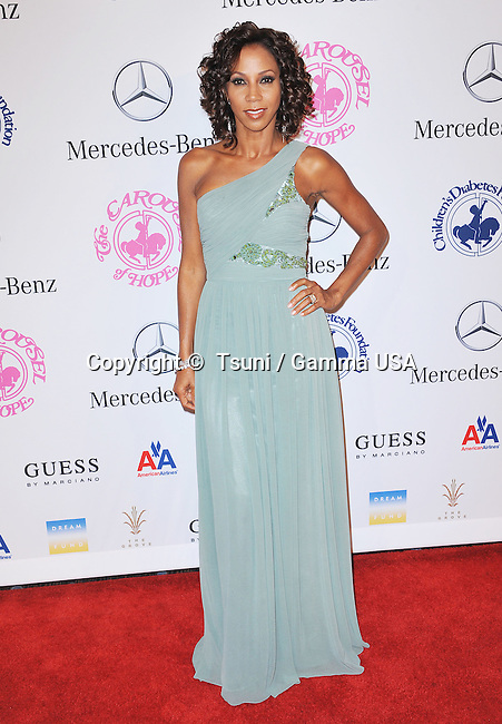 Holly Robinson-Peete  at the Carousel Of Hope 2012 at the Beverly Hilton Hotel in Los Angeles.