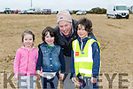 Enjoying the Causeway Ploughing Match at O'Connor farm, Sally Road, Ballyduff on Sunday were Soda Barron, Ronae Barron, Ronan BarronSean Barron, from Ballyduff