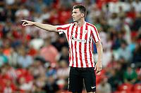 Athletic de Bilbao's Aymeric Laporte during La Liga match. August 28,2016. (ALTERPHOTOS/Acero) /NORTEPHOTO