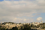 Israel, Jerusalem, a view of the Mount of Olives