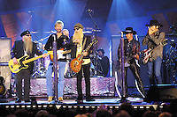 Brook & Dunn performs with ZZ Top during the first ever CMT Flameworthy Video Music Awards at the Gaylord Entertainment Center in Nashville, Tennesee.  6/12/02  Photo by Scott Gries/PictureGroup