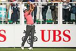 Jyoti Randhawa of India tees off the first hole during the 58th UBS Hong Kong Golf Open as part of the European Tour on 08 December 2016, at the Hong Kong Golf Club, Fanling, Hong Kong, China. Photo by Marcio Rodrigo Machado / Power Sport Images