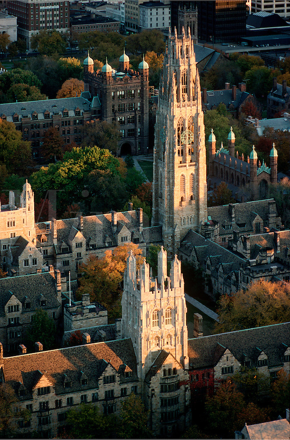 Yale University Harkness tower New Haven CT