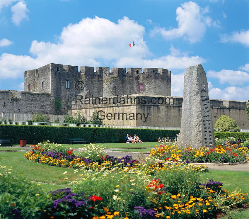 France, Brittany, Départements Finistère, Brest: Château de Brest   Frankreich, Bretagne, Département Finistère, Brest: Château de Brest