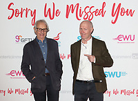 Sorry We Missed You UK Premiere at Vue West End cinema, Leicester Square, London on Monday October 21st 2019<br /> <br /> Photo by Keith Mayhew