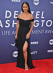 Joy Bryant 100 attends the American Film Institute's 47th Life Achievement Award Gala Tribute To Denzel Washington at Dolby Theatre on June 6, 2019 in Hollywood, California
