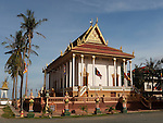 FRONTAL VIEW FROM WAT YEARY TEP AT KOMPONG CHHNANG
