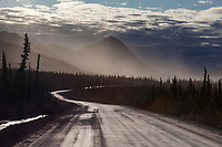 Mount Dillon of the Brooks range mountains, James Dalton Highway, or Haul Road, arctic Alaska.