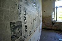 Abandoned GSSD Barrack in the former GDR.<br /> 21.7.2013<br /> Copyright: Christian-Ditsch.de<br /> [Inhaltsveraendernde Manipulation des Fotos nur nach ausdruecklicher Genehmigung des Fotografen. Vereinbarungen ueber Abtretung von Persoenlichkeitsrechten/Model Release der abgebildeten Person/Personen liegen nicht vor. NO MODEL RELEASE! Don't publish without copyright Christian-Ditsch.de, Veroeffentlichung nur mit Fotografennennung, sowie gegen Honorar, MwSt. und Beleg. Konto: I N G - D i B a, IBAN DE58500105175400192269, BIC INGDDEFFXXX, Kontakt: post@christian-ditsch.de<br /> Urhebervermerk wird gemaess Paragraph 13 UHG verlangt.]