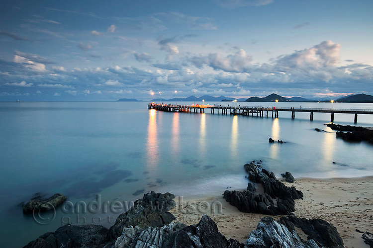 Jetty at Palm Cove, near Cairns, Queensland, Australia