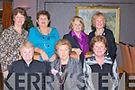COFFEEE LADIES: Morning Coffee ladies from Tralee who held their Christmas lunch in Ballygarry House Hotel & Spa, Tralee on Friday. Front l-r: Maureen Breen, Nuala Lawlor and Lily O'Mahony. Back l-r: Barbara Hudson, Eleanor Kelliher,Sally Smith and Betty Nugent.. . ............................... ..........