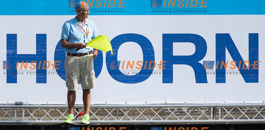 PRAYER Andrea LEN<br /> Hoorn, Netherlands <br /> LEN 2016 European Open Water Swimming Championships <br /> Open Water Swimming<br /> Women's 5km<br /> Day 02 12-07-2016<br /> Photo Giorgio Perottino/Deepbluemedia/Insidefoto