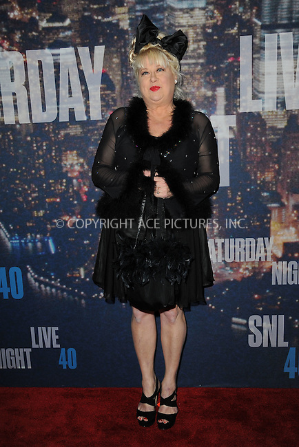 WWW.ACEPIXS.COM<br /> February 15, 2015 New York City<br /> <br /> Victoria Jackson walking the red carpet at the SNL 40th Anniversary Special at 30 Rockefeller Plaza on February 15, 2015 in New York City.<br /> <br /> Please byline: Kristin Callahan/AcePictures<br /> <br /> ACEPIXS.COM<br /> <br /> Tel: (646) 769 0430<br /> e-mail: info@acepixs.com<br /> web: http://www.acepixs.com
