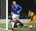 10/02/2010  Copyright  Pic : James Stewart.sct_jspa08_rangers_v_motherwell  .:: KRIS BOYD CELEBRATES AFTER HE SCORES THE EQUALISER::.James Stewart Photography 19 Carronlea Drive, Falkirk. FK2 8DN      Vat Reg No. 607 6932 25.Telephone      : +44 (0)1324 570291 .Mobile              : +44 (0)7721 416997.E-mail  :  jim@jspa.co.uk.If you require further information then contact Jim Stewart on any of the numbers above.........