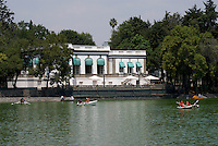 The Casa del Lago on Lago de Chapultepec in the First Section of Chapultepec Park, Mexico City