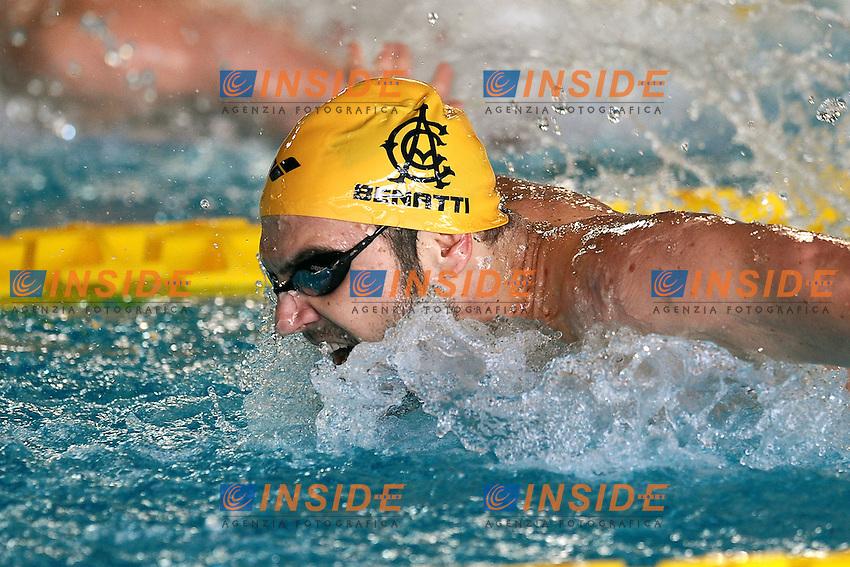 Lorenzo Benatti Aniene 50m Farfalla Butterfly.Riccione 07/03/2012 .Nuoto Campionati Italiani primaverili.Foto Insidefoto Andrea Staccioli