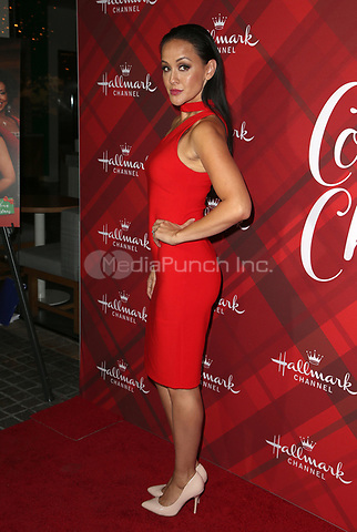 LOS ANGELES, CA - DECEMBER 4: Crystal Lowe, at Screening Of Hallmark Channel's 'Christmas At Holly Lodge' at The Grove in Los Angeles, California on December 4, 2017. Credit: Faye Sadou/MediaPunch