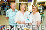 TJ Cronin, Ann Hennessy (Tubrid Studios) and Helen Cronin from Tralee at the Manor West Food and Crafts Fair in Manor on Saturday .