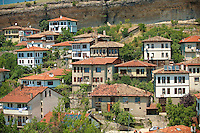 Ottoman style houses of Safranbolu, Turkey.  Safranbolu's architecture influenced urban development throughout much of the Ottoman Empire and was a major centre of the saffron Trade. UNESCO World Heritage Site.